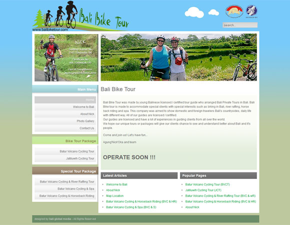Bali Tour with Bike. Adventure
