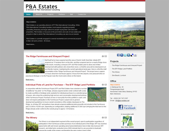 PA Estates - a Division of PA Consulting International